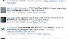 Brand Moerdijk: Sociale Media in tijden van rampen