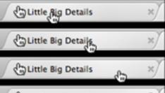 Little Big Details: met het oog op het grote belang van kleine details