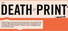 Het einde van print [Infographic]