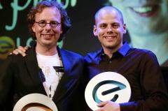 Peter Driessen en Ruben Timmerman internetondernemers van het jaar!